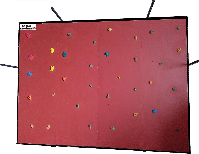 Grupo Contact Rocodromo Indoor Desmontable, 4 x 3 (Alto) m ...