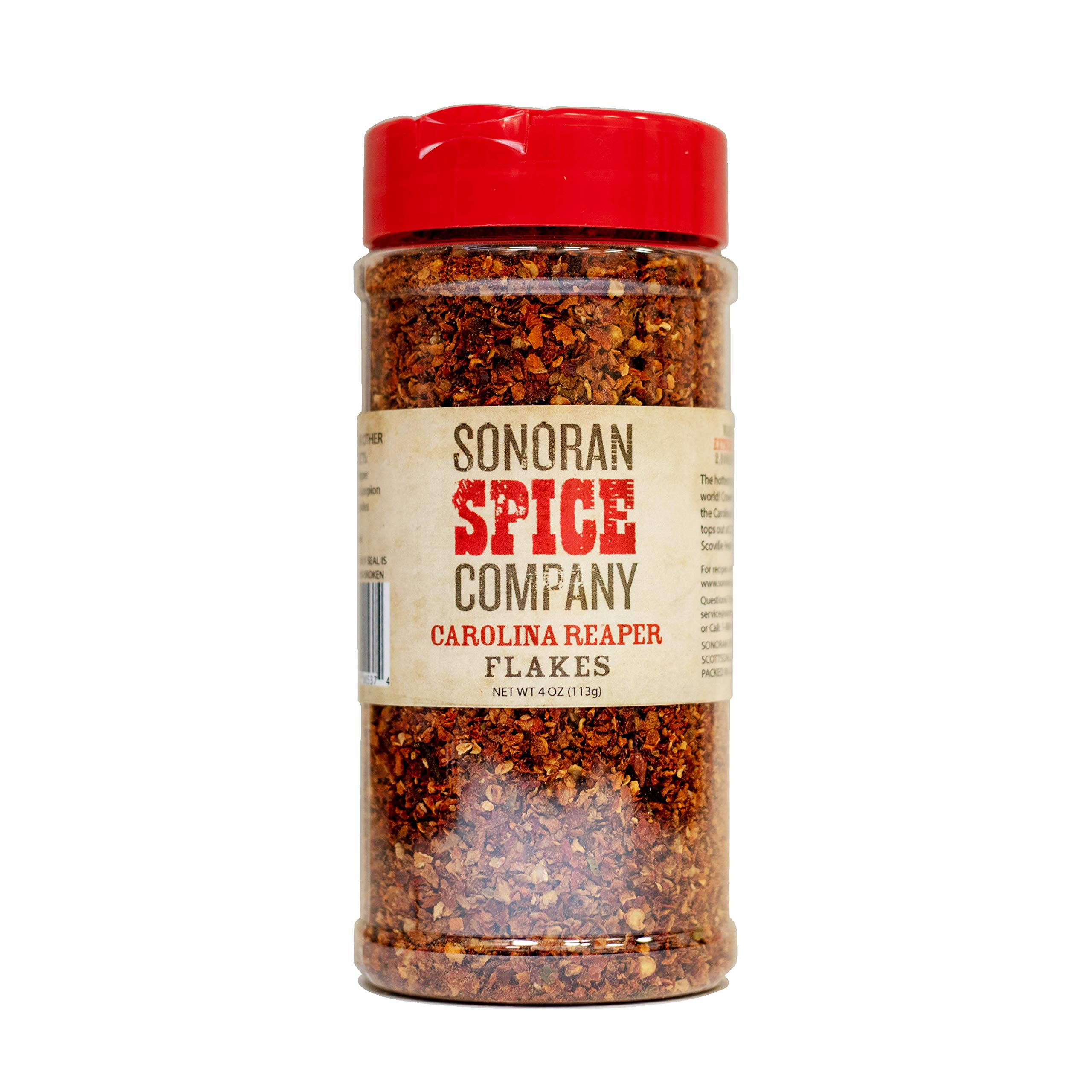 Carolina Reaper Flakes (4 Oz) by Sonoran Spice (Image #1)
