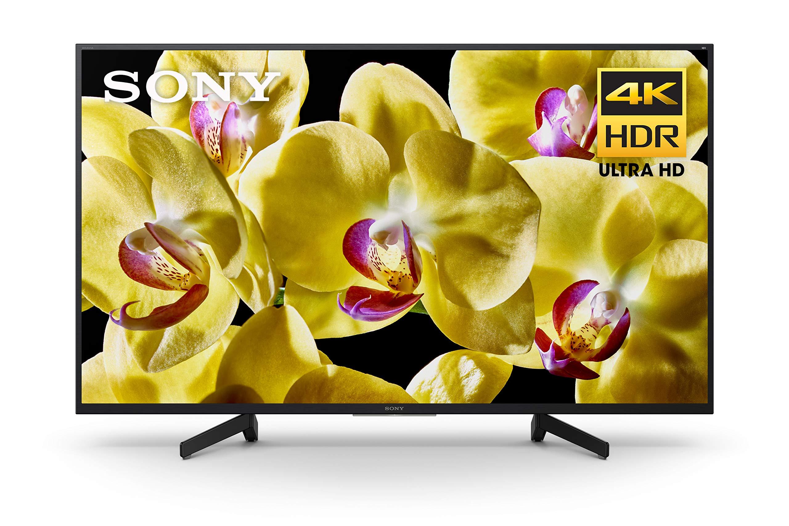 Sony XBR-49X800G 49-Inch 4K Ultra HD LED TV (2019 Model)