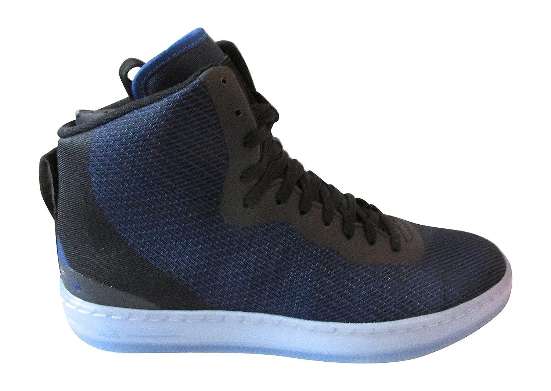 Nike Herren Nsw Pro Stepper Basketballschuhe, Talla  42 EU|Blau / Schwarz / Silber (Ryl G / G-mtllc Ryl-blck Slvr)