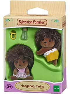SYLVANIAN FAMILIES Hedgehog Twins Mini Muñecas Y Accesorios Epoch para Imaginar 5218
