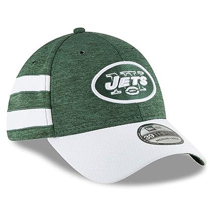 2b75bfdc545b8b Amazon.com : New Era 39Thirty Cap - Sideline Home New York Jets ...