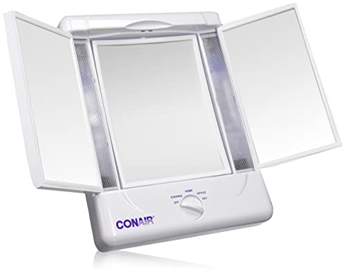 Illumina by Conair Collection Two-Sided Lighted Makeup Mirror