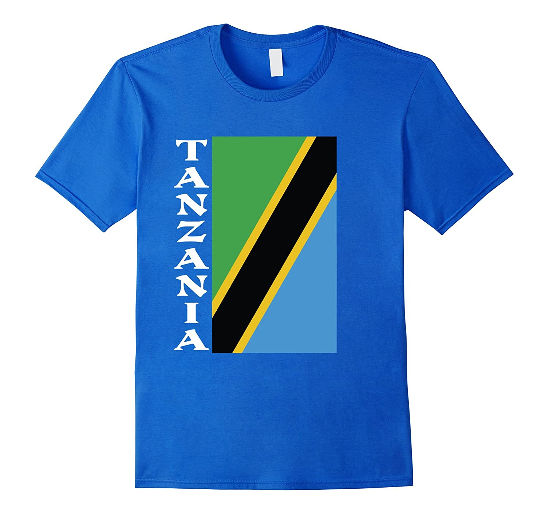 Tanzania Pride Flag T-Shirt-Vaci