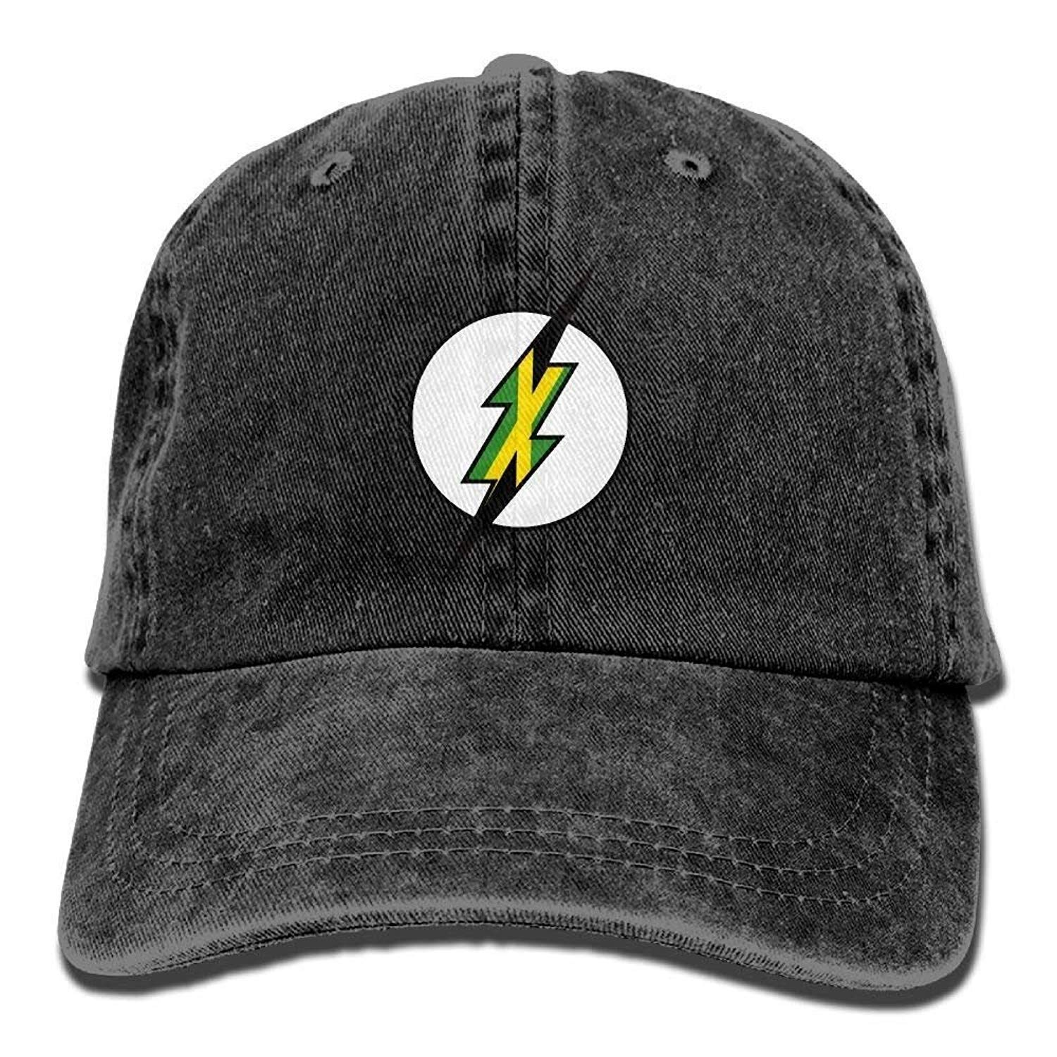 JTRVW Jamaica Adult Cowboy Hat Baseball Cap Adjustable Athletic Making Awesome Hat for Men and Women