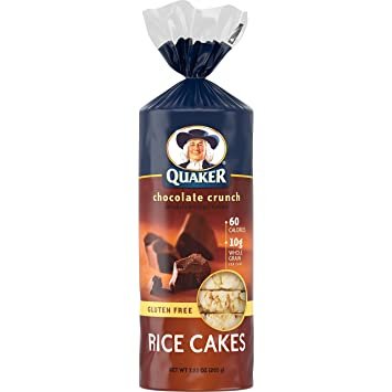Quaker Rice Cakes Chocolate Crunch 7 23 Ounce