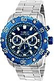 INVICTA Pro Diver Herren-Armbanduhr Chronograph Quarz Edelstahl