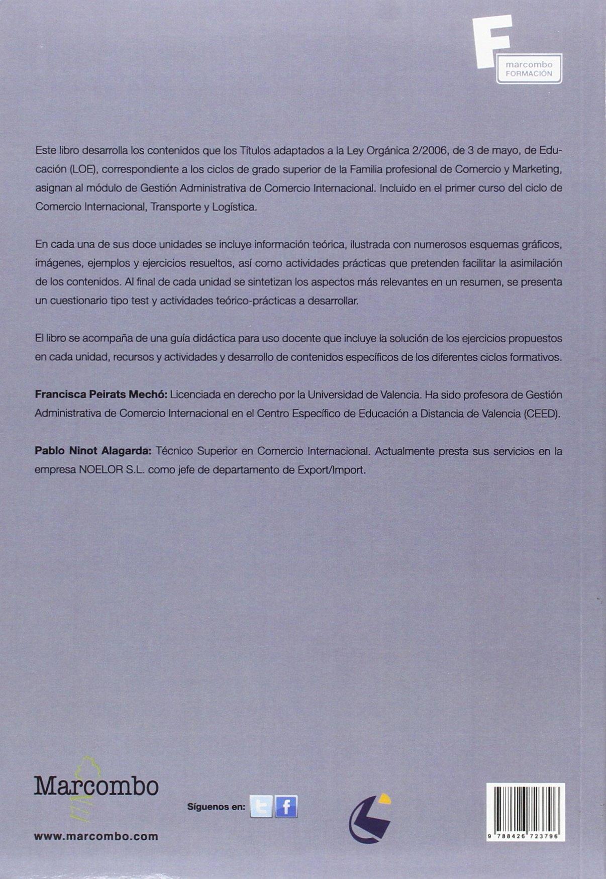 Amazon Fr Gestión Administrativa Del Comercio