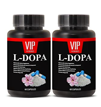 Natural L-Dopa (99% Extract) 350mg - Mucuna Pruriens Extract Formula (