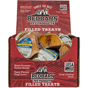 Amazon.com : Red Barn Filled Hoof Dog Treat, Cheese n