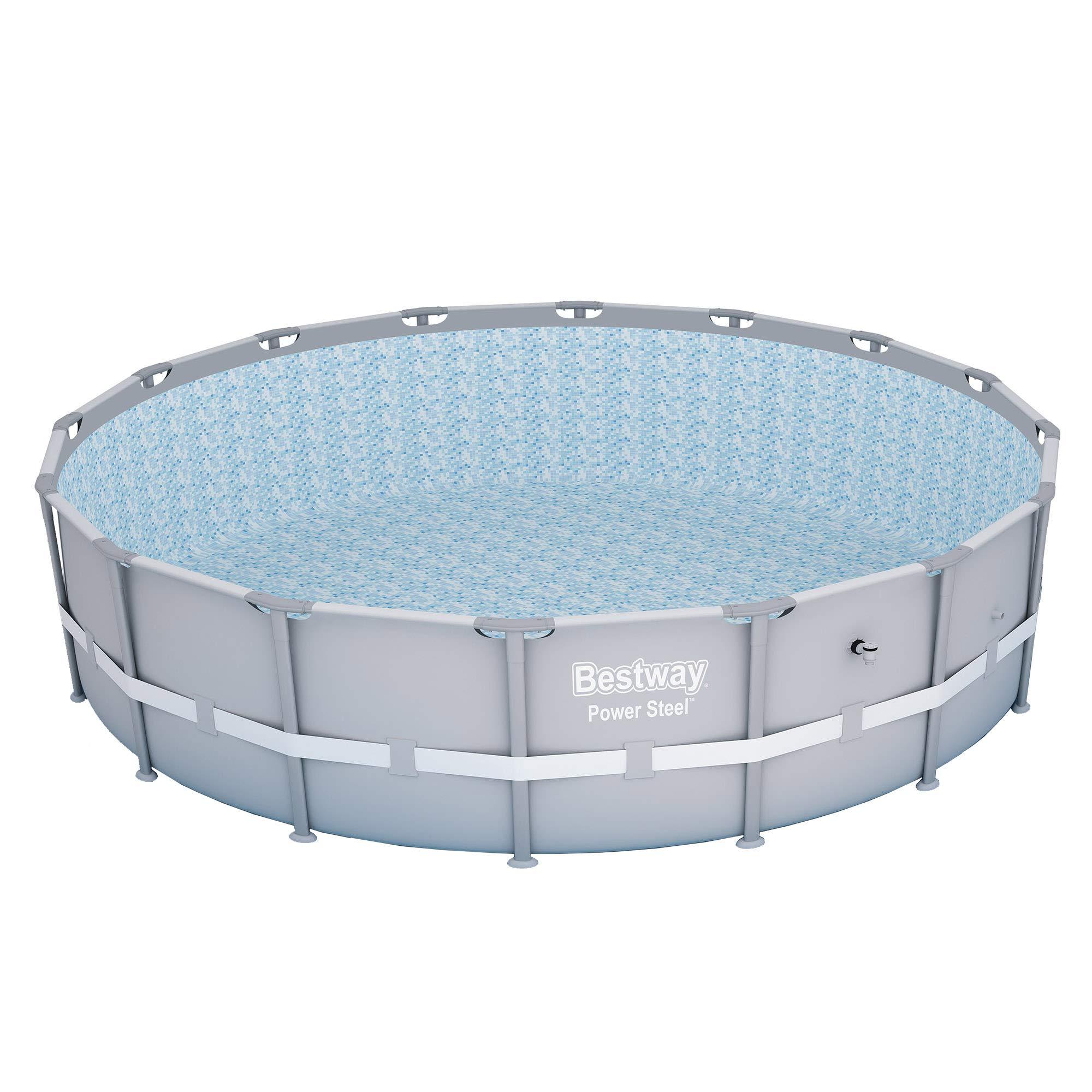 Bestway 13429 Power Steel Swimming Pool, 16' x 48'' by Bestway