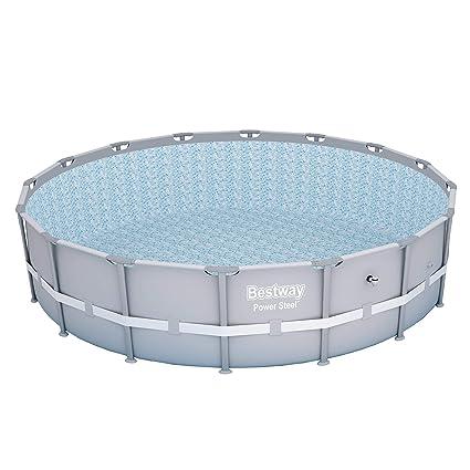 Bestway 13429 Power Steel Swimming Pool, 16\' x 48\