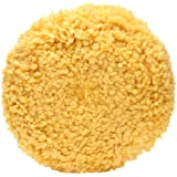 3M Wool Polishing Pad (05713) – For Boats, Cars, Trucks and RVs – Single-Sided – 9 Inches , Yellow