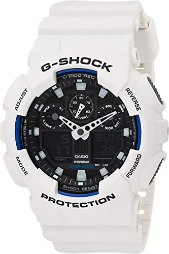 Casio g-shock orologio analogico - digitale, uomo GA-100B-7AER