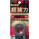 3Mスコッチ超強力両面テーププレミアゴールドスーパー多用途粗面KPR-25