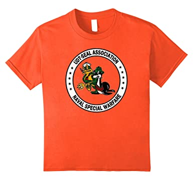 b8290139e63c8 Amazon.com: Kids U.S. NAVY SEAL Shirt ORIGINAL UDT Association Logo ...