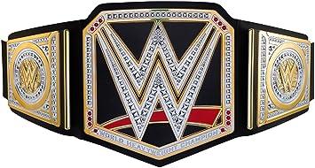 wwe mattel world heavyweight championship belt