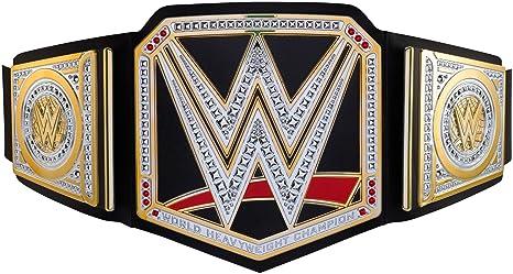 amazon com wwe world heavyweight championship belt frustration