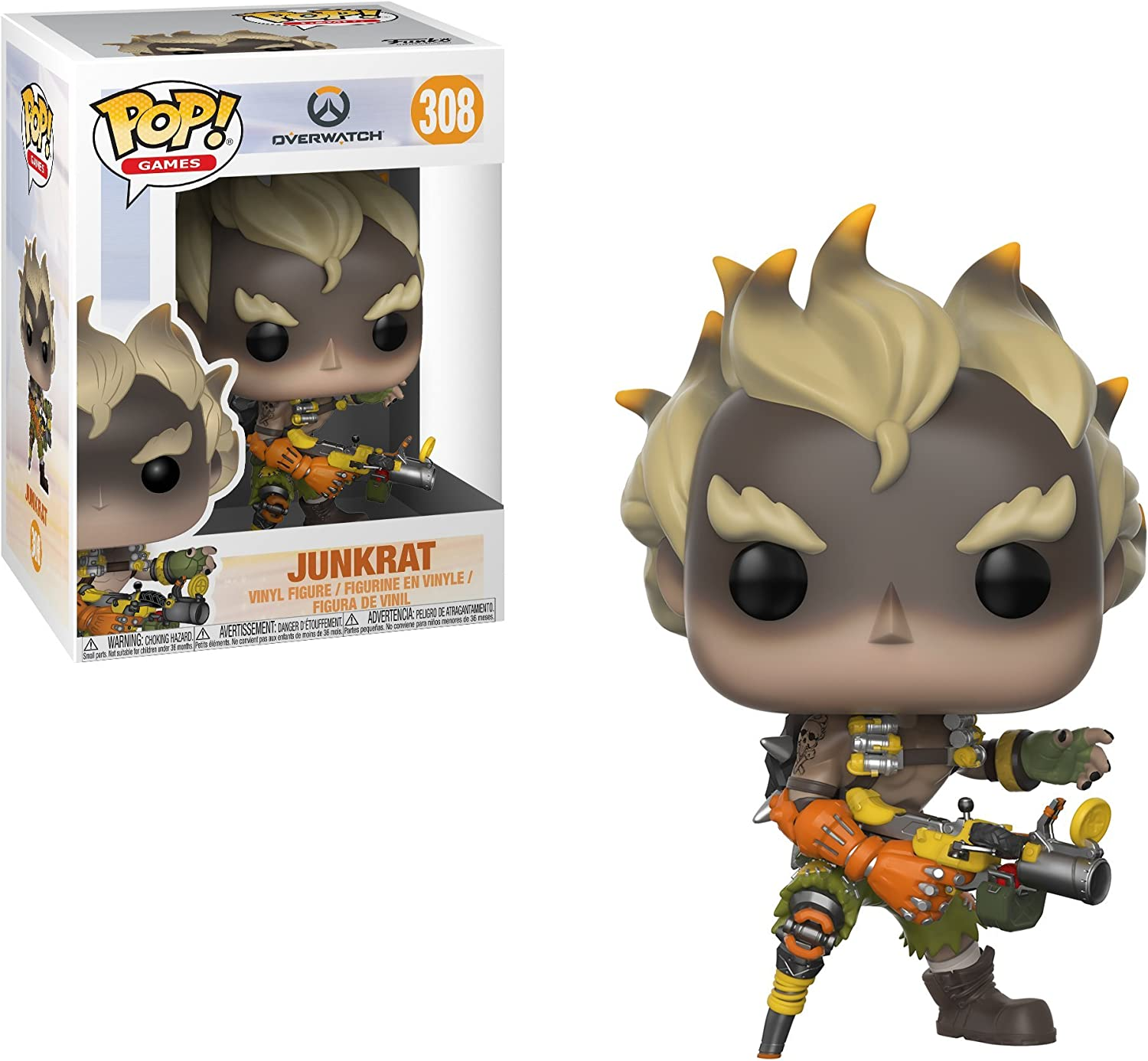 Overwatch McCree Pop Vinyl FunKo Free Shipping!
