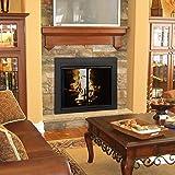 Pleasant Hearth AN-1012 Alpine Fireplace Glass
