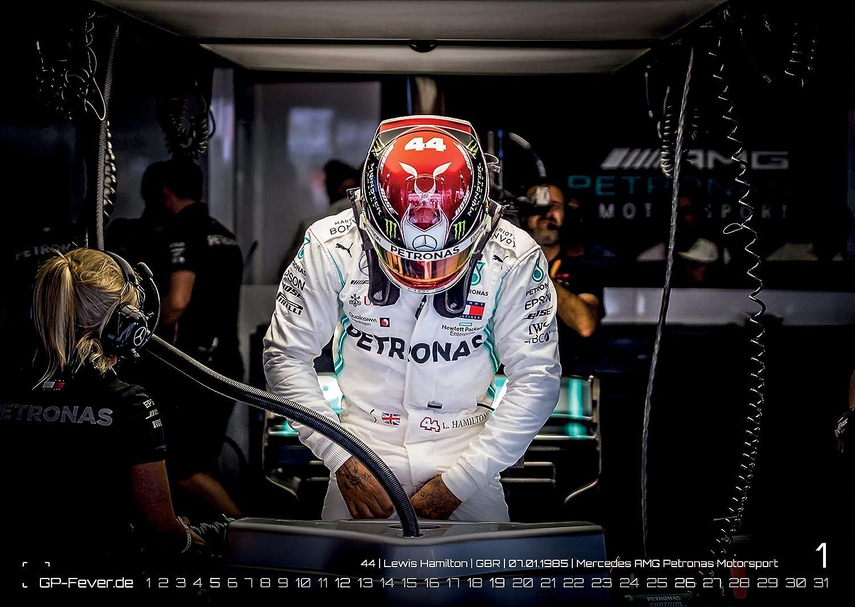 Gran Premio di Formula 1-2020 Calendario formato DIN A3