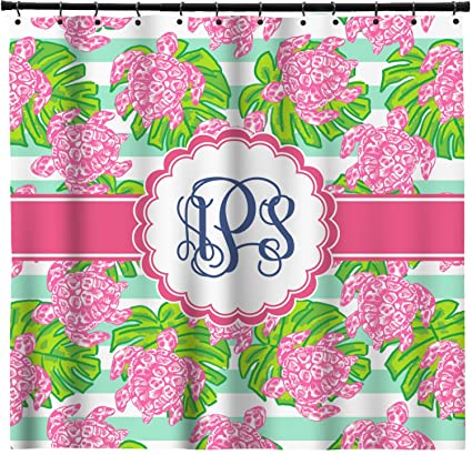 Amazon RNK Shops Preppy Shower Curtain