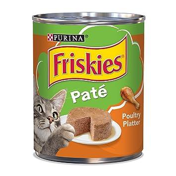 Amazon.com: Comida para gatos Friskies, plato paté ...