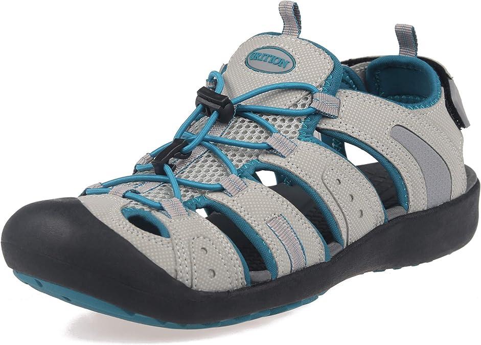 Knixmax Sandales de Randonn/ée Femme Homme Chaussures Multisport Outdoor Sandales De Marche