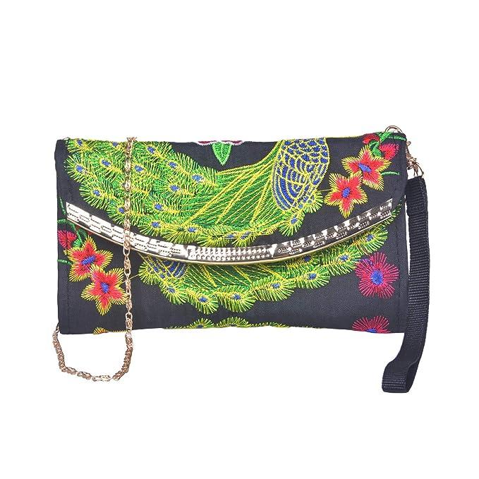 Amazon.com: Larcenciel - Bolso de mano para mujer, diseño de ...