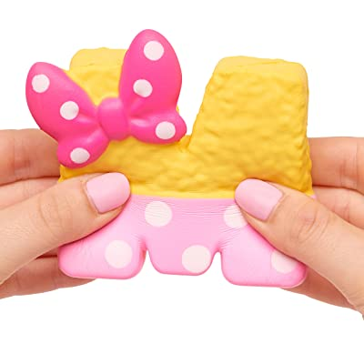 Kawall Squeezies Minnie Rice Krispy Treat, Multicolor: Toys & Games
