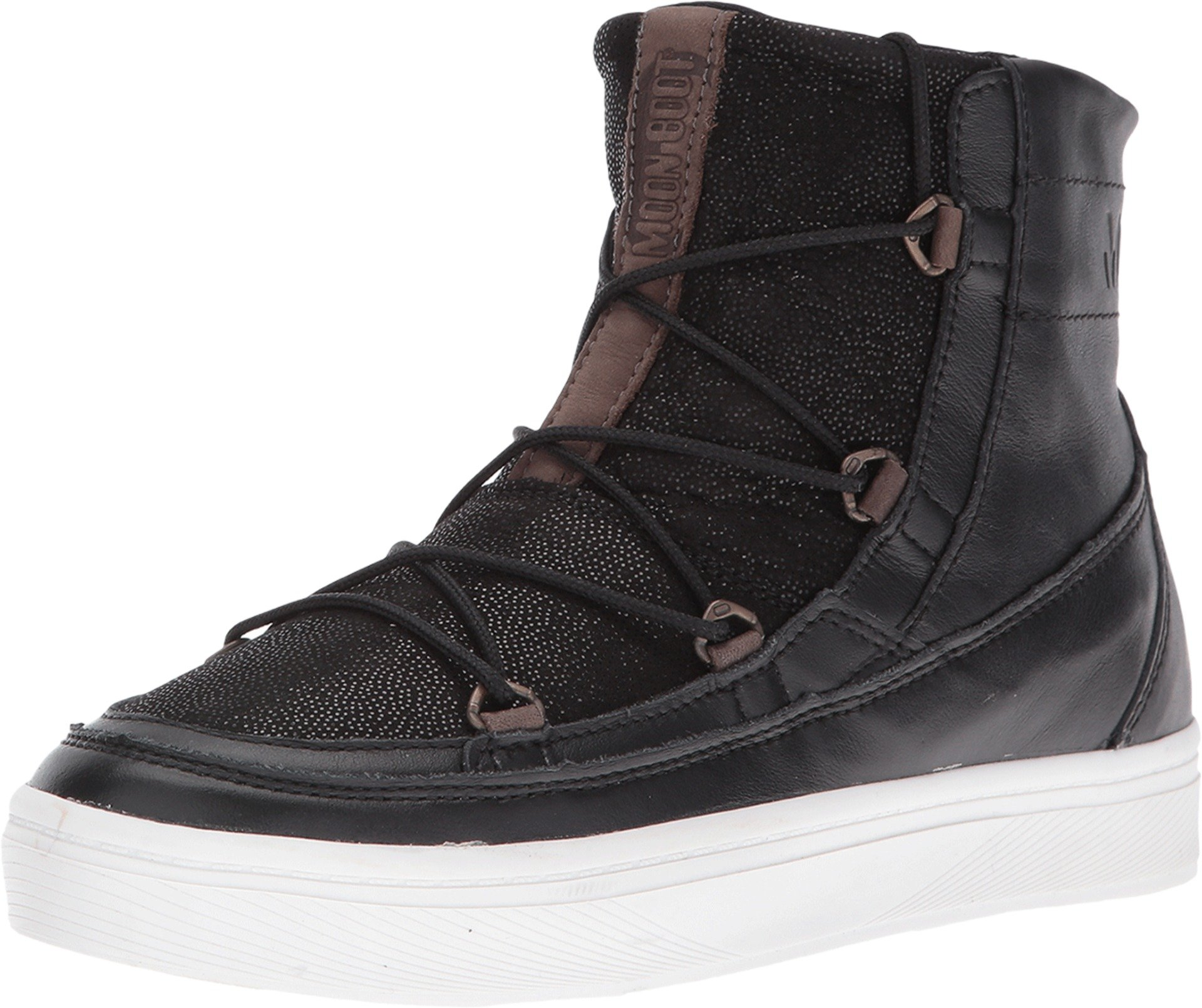 Tecnica Unisex Moon Boot Vega Lux Black Sneaker 40 (US Men's 7.5, US Women's 9) Medium