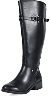 157a068ef502 TOETOS Women s 4 Fashion Casual Knee High Riding Boots