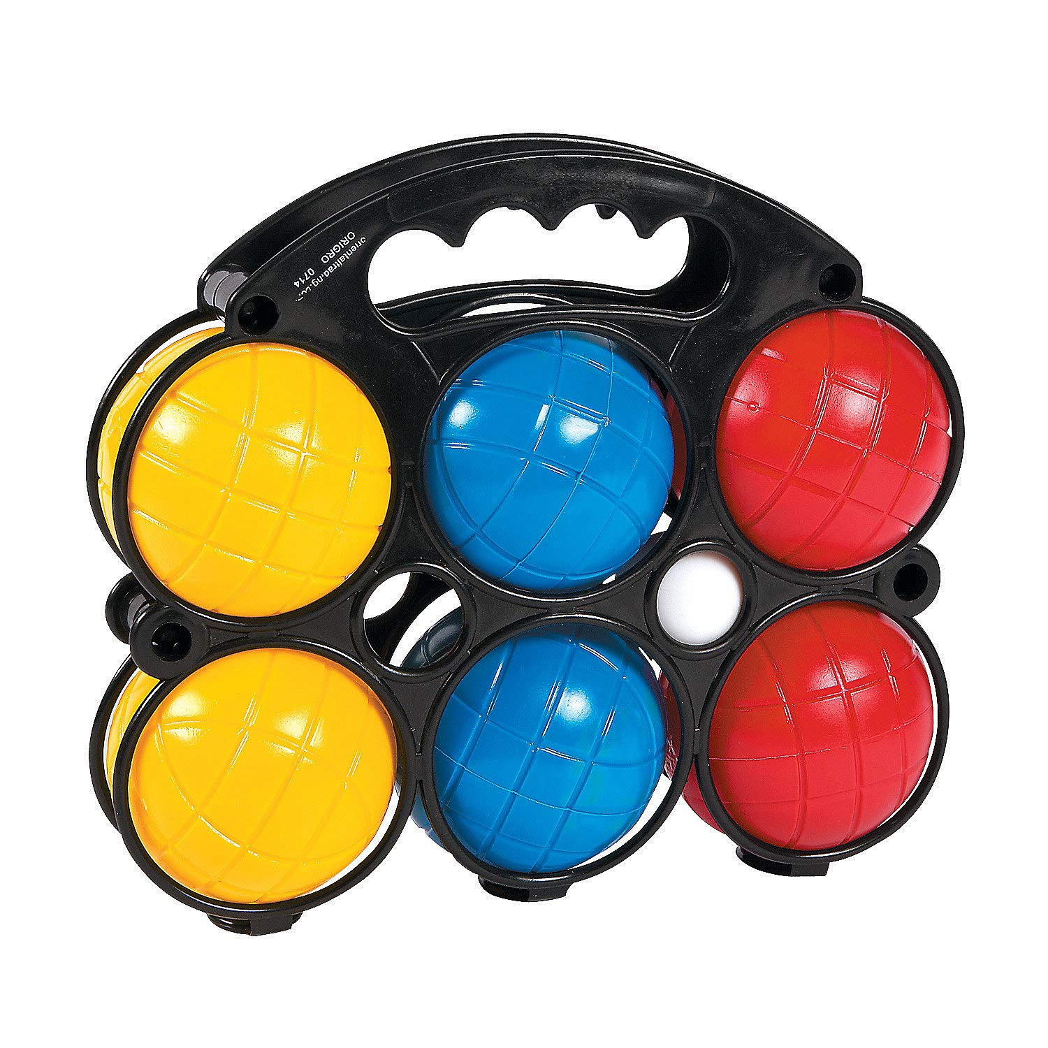 Fun Express - Bocce Ball Set (8pc) - Toys - Active Play - Recess & PE Play - 8 Pieces by Fun Express