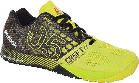 Reebok Crossfit Nano 5.0 - Zapatillas deportivas, color amarillo (talla 38,5): Amazon.es: Deportes y aire libre