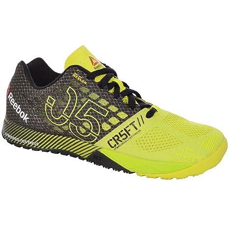 Reebok Crossfit Nano 5.0 - Zapatillas deportivas, color amarillo (talla 38,5)