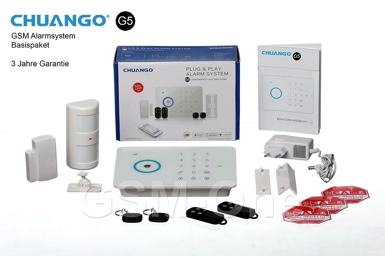 GSM alarma Chuango G5 inmediato de inicio del paquete ...