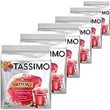 Tassimo Twinings Infusion Saveur Fruits des Bois, Lot de 6, 6 x 16 T-Discs