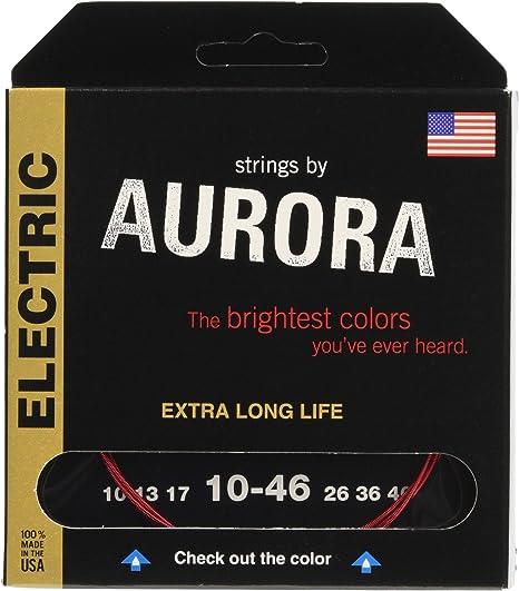 Aurora aurr10 – 46 Premium Color rojo, cuerdas para guitarra ...