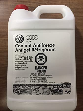Volkswagen G13 Coolant Concentrated Pink - 1 Gallon