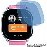 2X Crystal Clear klar Schutzfolie für XPLORA Kids Smartwatch Telefonuhr Displayschutzfolie Bildschirmschutzfolie Schutzhülle Displayschutz Displayfolie Folie