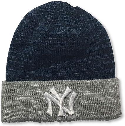 Fan Favorite New York Yankees Cuffed Adult Knit Beanie Cap Hat