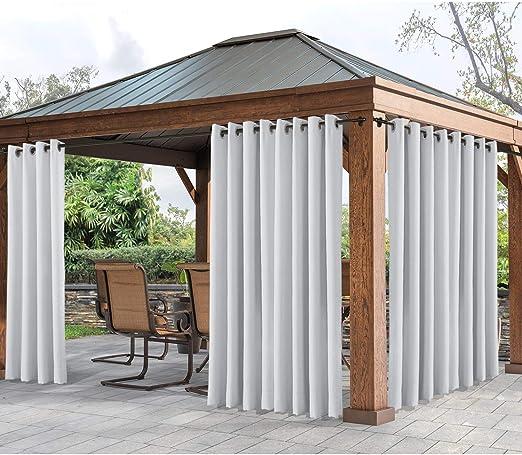 Cololeaf - Cortina de exterior para patio o interior, resistente ...