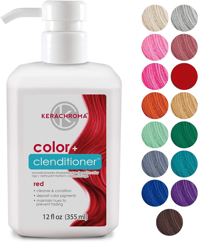 Acondicionador Keracolor Clenditioner para depositar el color del cabello –  Infunde instantáneamente el color en el cabello, 15 colores   sin crueldad,  Platino, 354,88ml: Amazon.com.mx: Salud y Cuidado Personal