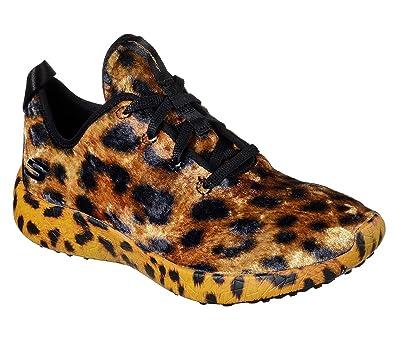SKECHERS BURST HIT the Town Damen Schuhe Low Sneaker Print