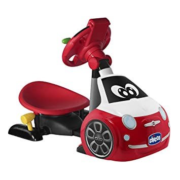 Chicco Driving Simulator Car Toy Fiat 500 Driver Amazon Co Uk