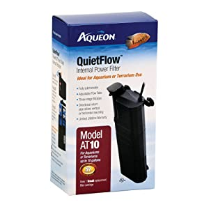 Aqueon Quietflow Internal Power Filter – Best fully-submersible internal tank filter
