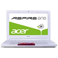 Acer Aspire One D270 25,7 cm (10,1 Zoll, matt) Netbook (Intel Atom N2600, 1,6GHz, 1GB RAM, 320GB HDD, Intel GMA 3600, Win 7 Starter) candy