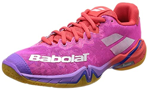 bf0ee137b9f Babolat Women s Badminton Shoes Pink Pink  Amazon.co.uk  Shoes   Bags