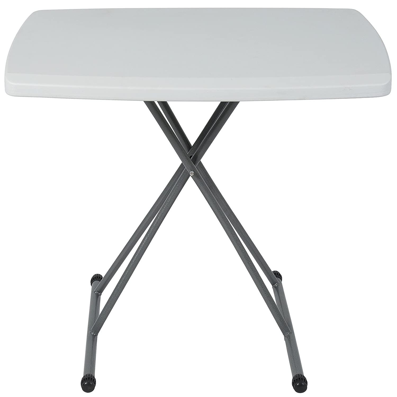 BCP Portable Personal Folding Table High Adjustable Indoor Outdoor 30 x 20