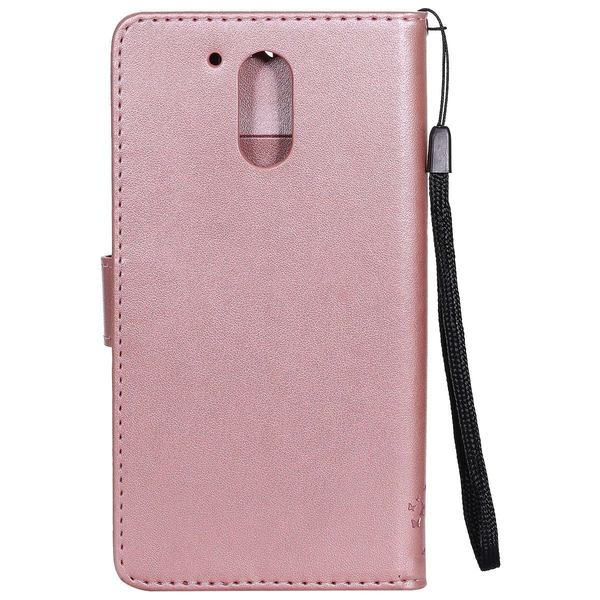 Uposao Kompatibel mit Motorola Moto G4 Leder H/ülle PU Leder Flip Tasche Pr/ägung Baum Blumen Ledertasche Wallet Handyh/ülle Tasche Schutzh/ülle Handy Tasche Cover Brieftasche H/ülle,Gr/ün